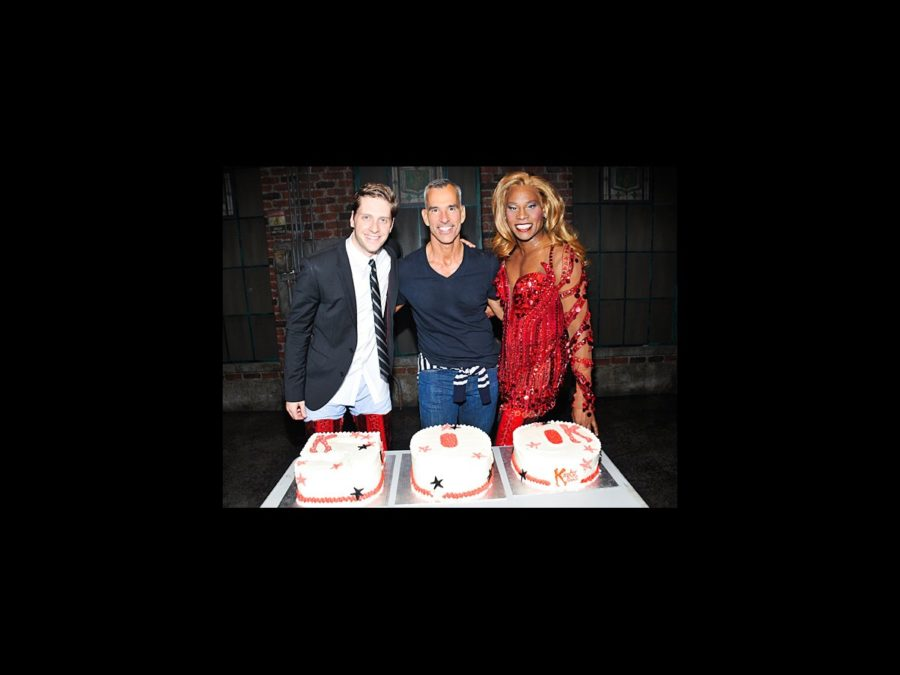 HS - Kinky Boots - 500th Performance - wide - 6/14