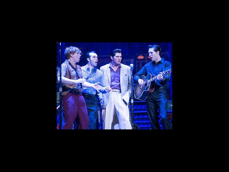 PS - Million Dollar Quartet - tour - Ben Goddard - James Barry - Cody Slaughter - David Elkins - wide - 2/13