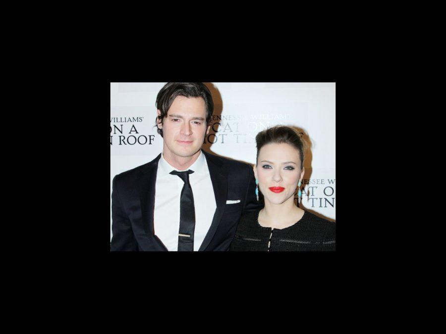 'Cat on a Hot Tin Roof' Opening Night - Benjamin Walker - Scarlett Johansson wide: Benjamin Walker & Scarlett Johansson