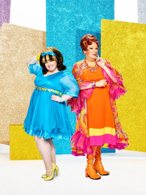 Hairspray Live! - Maddie Baillio as Tracy Turnblad & Harvey Fierstein as Edna Turnblad - — (Photo: Brian Bowen Smith/NBC) - 12/16