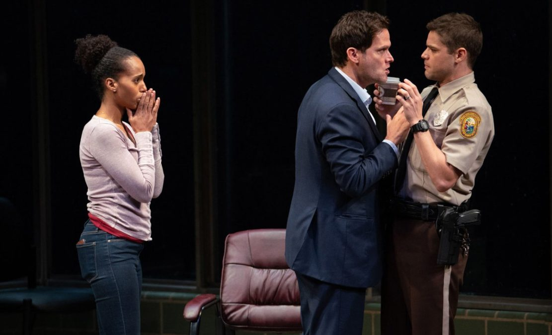 Show Photos - American Son - Kerry Washington - Steve Pasquale - Jeremy Jordan - Photo: Peter Cunningham