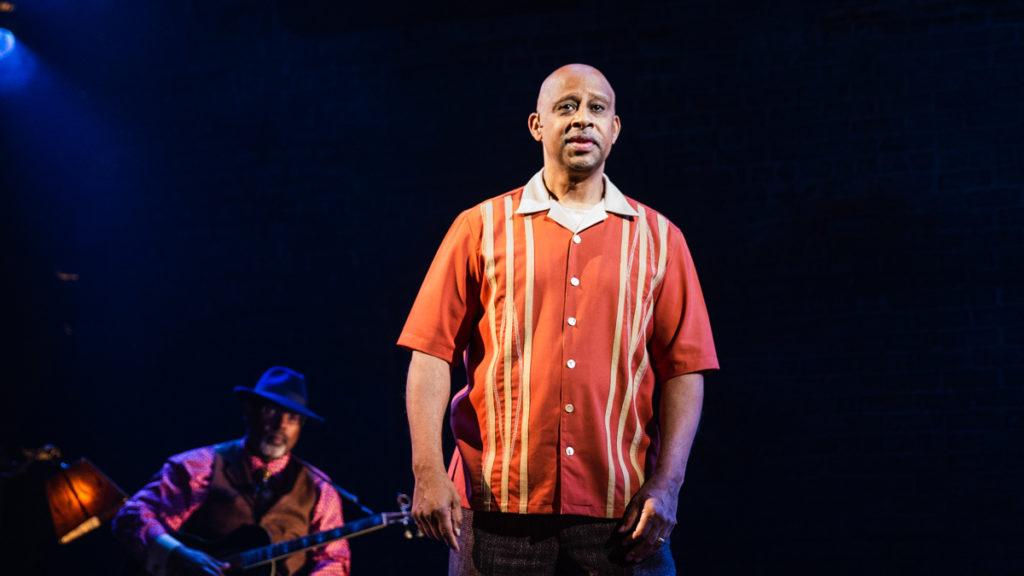 Show Photos - Lackwanna Blues - Ruben Santiago-Hudson - 9/21 - Photo: Marc J. Franklin